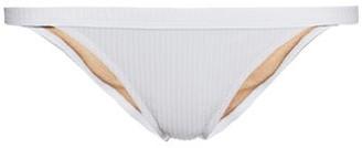 Made by Dawn Traveler Ribbed Bikini Briefs - Womens - White