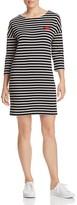 Scotch & Soda Stripe Cotton Sweater Dress
