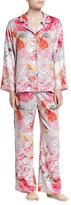 Natori Autumn Notch Pajama Set, Multicolor