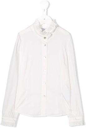 MonnaLisa Studded Logo Shirt