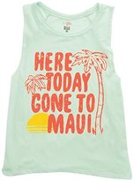 Billabong Junior's Rockin Waves Graphic Muscle Tee