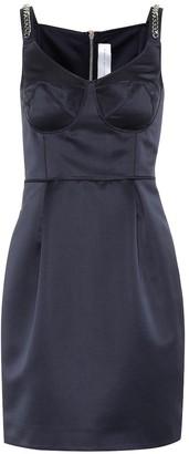 Victoria Victoria Beckham Embellished satin minidress