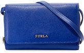 Furla Classic Leather Crossbody Pouch, Blue