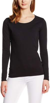 Fruit of the Loom Women's Valueweight Long Sleeve T-Shirt
