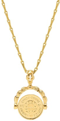 Mirabelle Jewellery Victorian Spinner Coin Charm Pendant