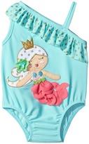 Mud Pie Mermaid Swimsuit (Infant)