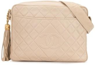 Chanel Pre Owned CC stitch shoulder bag