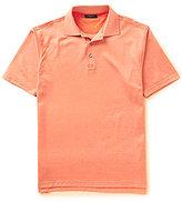 Bobby Jones Pinwheel Printed Knit Jacquard Short-Sleeve Polo Shirt