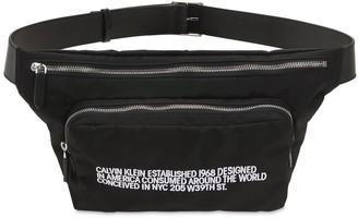 Calvin Klein Embroidered Logo Belt Bag