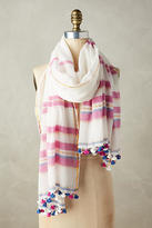 Anthropologie Martha Striped Scarf