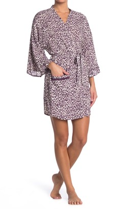 Kensie Animal Print Robe