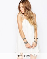 Glamorous Festival Cami Dress With Lace Applique