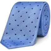 David Jones Textured Spot Tie