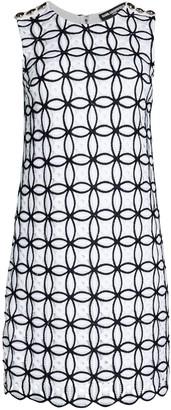 Karl Lagerfeld Paris Sleeveless Lace Sheath Dress