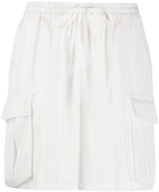 P.A.R.O.S.H. Tilt cargo shorts