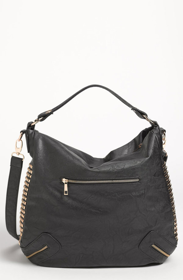 Top Choice Studded Convertible Hobo Bag