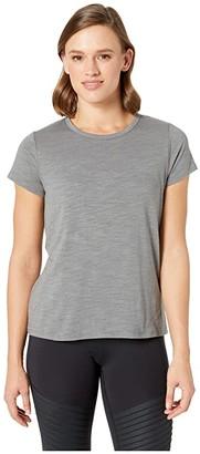 tasc Performance St. Charles Crew Short Sleeve Tee (Smoked Pearl Slub) Women's T Shirt