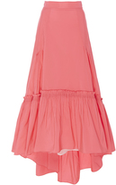 Peter Pilotto Bright Pink Taffeta Long Skirt