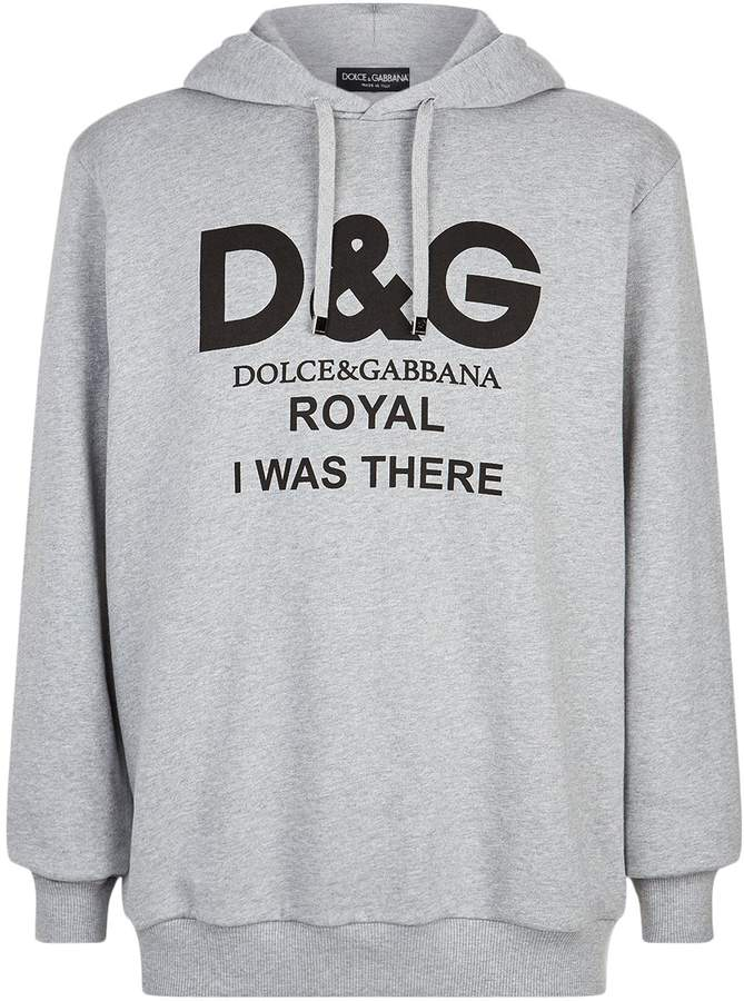 Dolce & Gabbana Slogan Hoodie