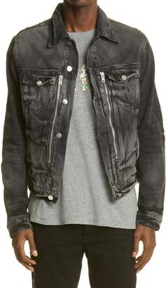 Amiri Bandana MX2 Denim Jacket