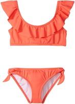 Billabong Kids - Sol Searcher Ruffle Set Girl's Swimwear Sets