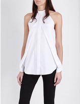 Dion Lee Halterneck sleeveless cotton top