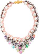 Shourouk Theresa sequined mini necklace