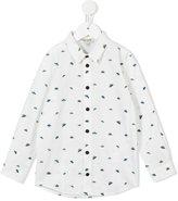 Kenzo spaceship print shirt - kids - Cotton - 2 yrs