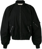 Damir Doma oversized bomber jacket - men - Cotton/Cupro - S