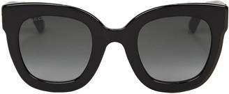 Gucci Oversized Crystal-Embellished Sunglasses