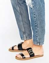 Aldo Double Strap Buckle Sandals