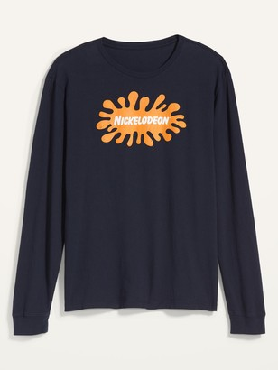 Old Navy Nickelodeon Gender-Neutral Graphic Long-Sleeve Tee for Men & Women