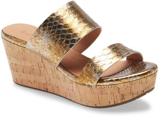 Chocolat Blu Wilder Wedge Slide Sandal