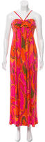 Tibi Printed Maxi Dress