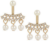 INC International Concepts M. Haskell for Imitation Pearl and Crystal Earring Jackets, Only at Macy's