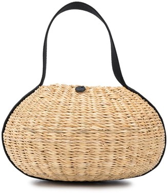 Muun Or straw tote bag