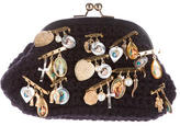 Dolce & Gabbana Convertible Embellished Clutch