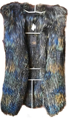 Berenice Blue Fox Coat for Women