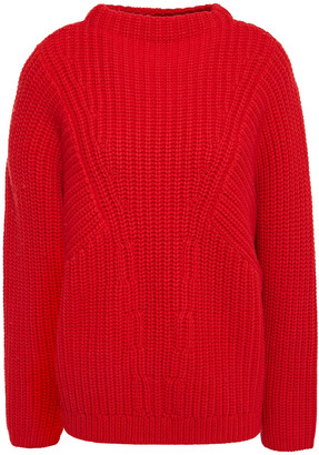 Equipment Ribbed Wool Sweater