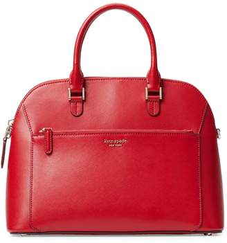 Kate Spade Medium Louise Dome Leather Satchel