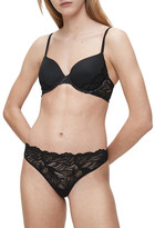 Calvin Klein Perfectly Fit Iris Lace Thong