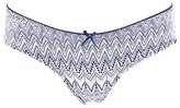 Charlotte Russe Sheer Back Lace Hipster Panties
