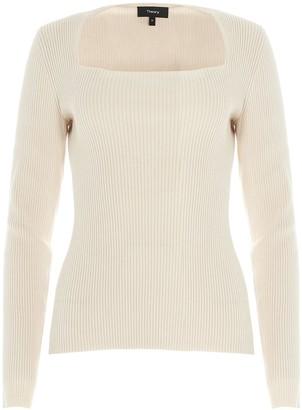 Theory portrait Sweater