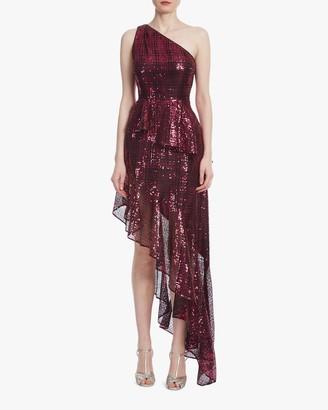 ONE33 SOCIAL One-Shoulder Hi-Low Dress