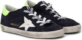 Golden Goose Kids low top Superstar sneakers
