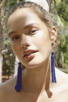 Urban Outfitters Cordelia Tassel Hoop Earring