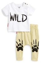 Toddler Boy's Sookibaby Wild T-Shirt & Leggings Set