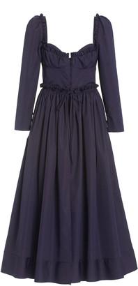 Rosie Assoulin Winter Garten Cotton Party Dress