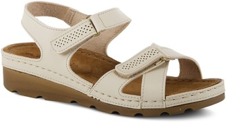 Spring Step Flexus by Adjustable Double Strap Sandals - Aebi