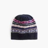 J.Crew Merino wool hat in Fair Isle